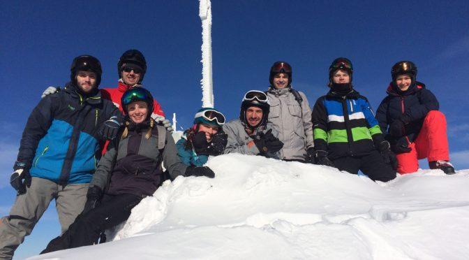 Skireise 2017: Schnee, Sonne, Skifahren – Stimmung!