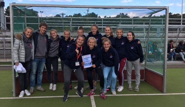 Jugend trainiert für Olympia 2017: Grandioser 4. Platz für die Hockey-Mannschaft (Mädchen) des CvO!