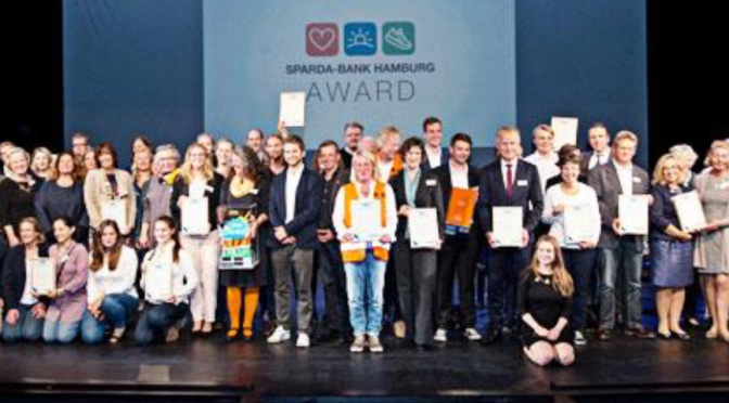 Sparda – Award im Umweltschutz 2017 für das CvO