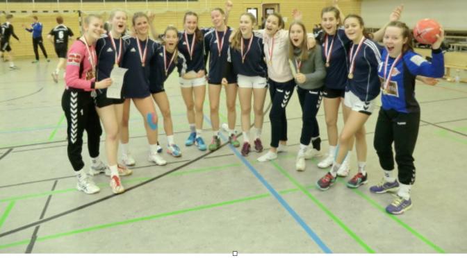 """""""Jugend trainiert für Olympia"""": Handball-Mädchenmannschaften des CvO qualifizieren sich für Berlin"""