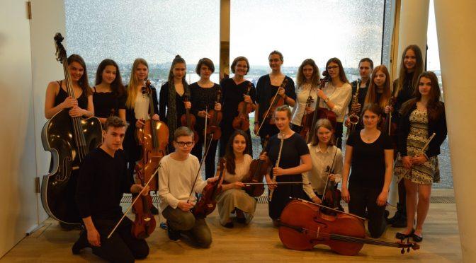 Das Schulorchester des CvO im Großen Saal der Elbphilharmonie