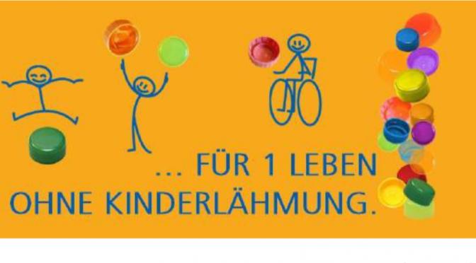 """Großer Erfolg bei unserem Schulwettbewerb """"500 Deckel für ein Leben ohne Kinderlähmung"""""""