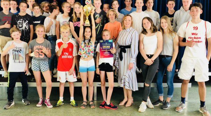 2. Platz für CvO beim AOK-Schulmeister-Wettbewerb