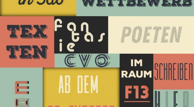 Neu am CvO: Poetry Slam AG
